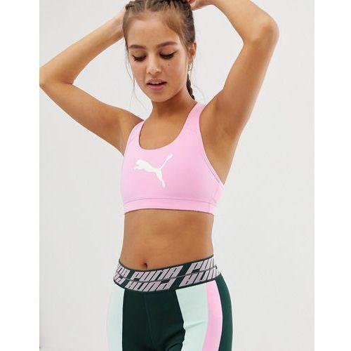 dee195e8d44db6 Bielizna sportowa damska · training 4 keeps bra in pale pink - pink marki  Puma
