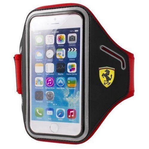Futerał Ferrari Armband na ramie Apple iPhone 6 / 6S black, kolor czarny