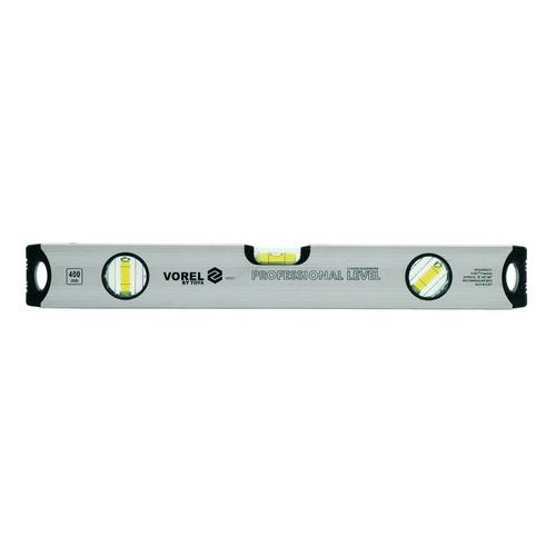 Poziomnica aluminiowa vorel 3-libelki 400 mm / 16551 / VOREL - ZYSKAJ RABAT 30 ZŁ (5906083165511)