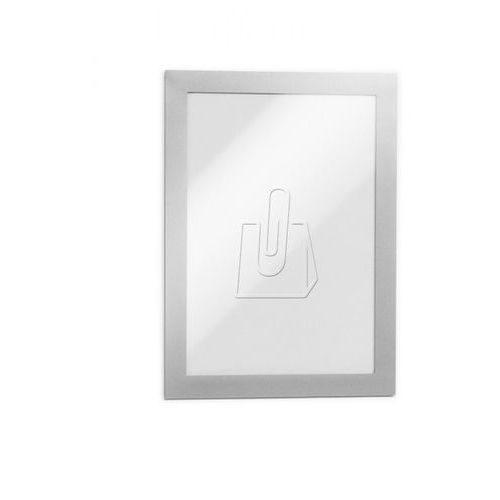 Durable Ramka samoprzylepna magaframe - 4871, a5/2szt. srebrna