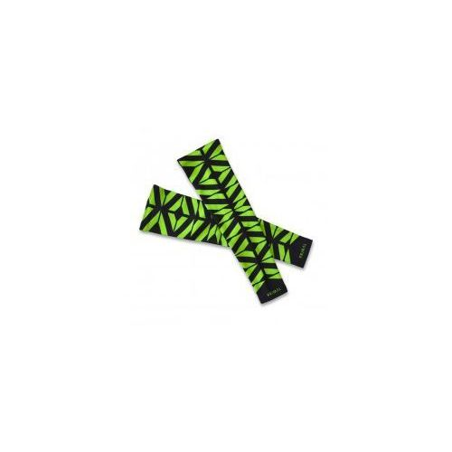 Ocieplane rękawki kolarskie neon crush marki Primal
