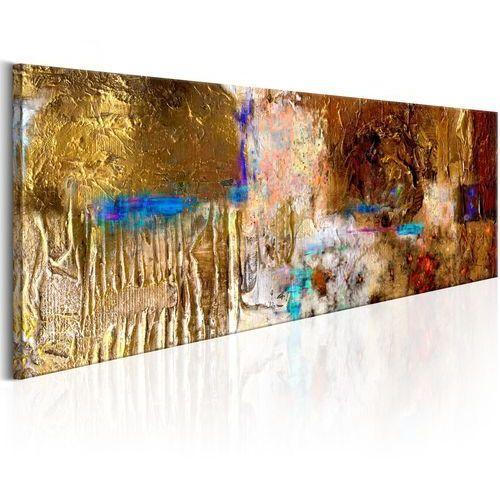 Obraz malowany - Złota konstrukcja