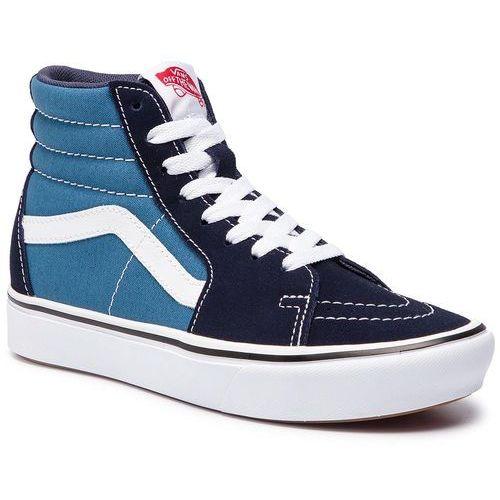 Sneakersy - comfycush sk8-hi vn0a3wmbvnt1 (classic) navy/stv navy, Vans, 35-40