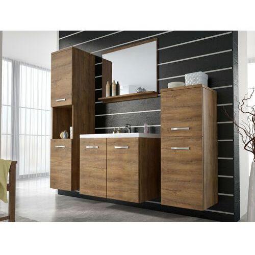 Zestaw maja – meble łazienkowe – wygląd drewnopodobny marki Shower design
