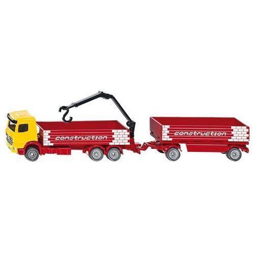 ciężarówka do przewozu materiałów budowalnych marki Siku
