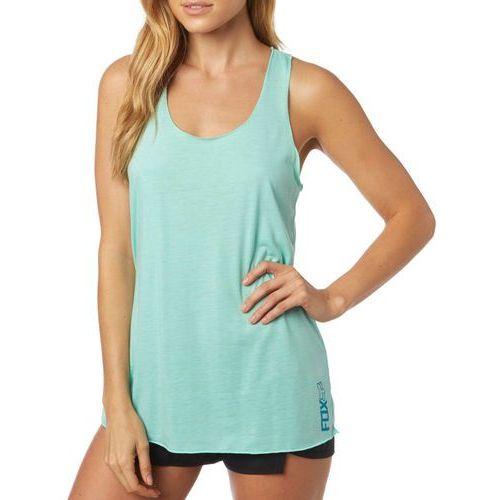 FOX koszulka bez rękawów damska Miss Clean Racer S turkusowy, kolor niebieski