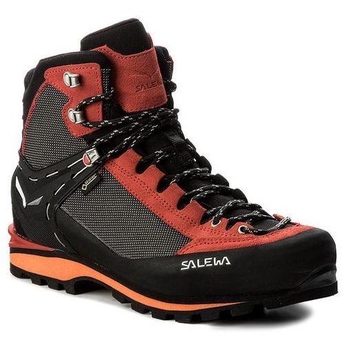 Trekkingi SALEWA - Crow Gtx GORE-TEX 61328-0935 Black/Papavero, kolor czarny