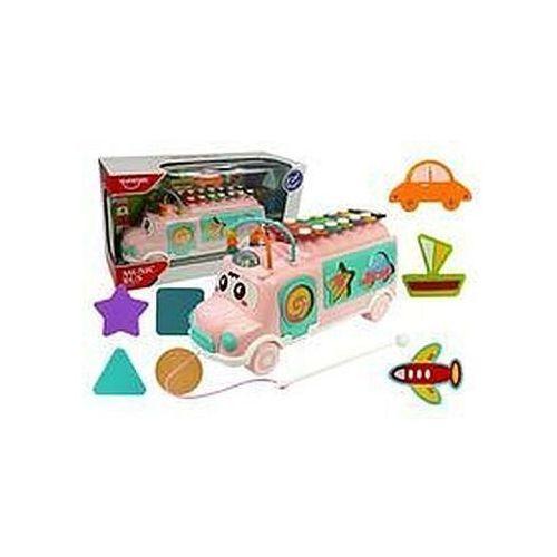 Muzyczny autobus z sorterem cymbałki ksylofon