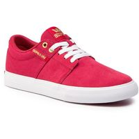 Sneakersy SUPRA - Stacks Vulc II 08029-633-M Rose-White, w 7 rozmiarach