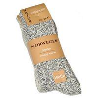 Skarpety norweger wolle art. 21100 a'2 rozmiar: 43-46, kolor: szary melange, wik, Wik
