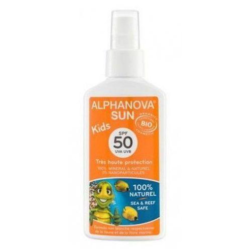 Spray Przeciwsłoneczny SPF 50, 125g Alphanova Kids - sprawdź w wybranym sklepie