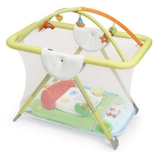 Cam kojec dziecięcy brevettato z zabawkami i matą col.222