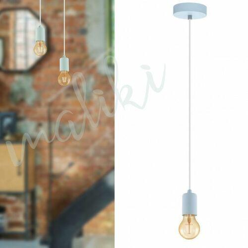 Lampa wisząca Eglo Yorth-P 4918 zwis 1x60W E27 pastelowy jasny niebieski (9002759490188)