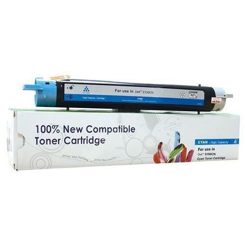 Cartridge web Toner cw-d5100cn cyan do drukarek dell (zamiennik dell 593-10051 / k5272) [8l] (5902114228316)