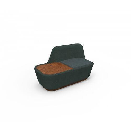 shuffle sofa wing ze stolikiem shuffle-wingtable marki Spell