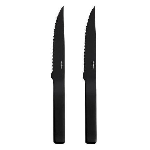 Stelton Zestaw 2 noży do steków pure black