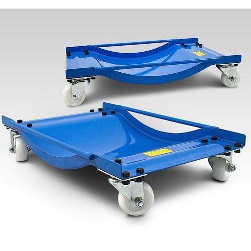 Wózek manewrowy wózki manewrowe 2 sztuki obrotowe marki Eu-trade