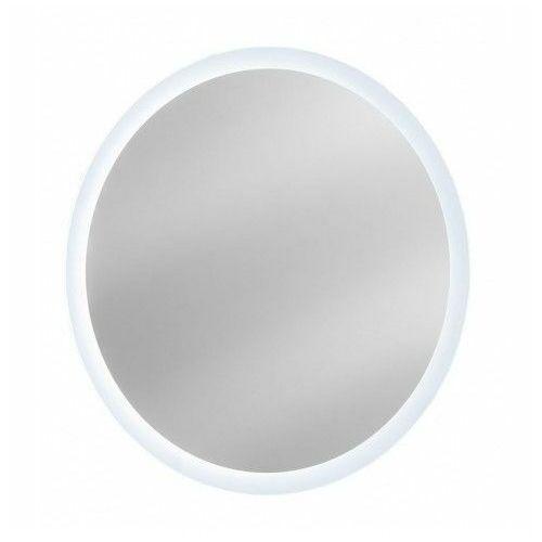 Okrągłe wiszące lustro łazienkowe Monako 2S 80 cm