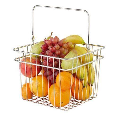 Koszyk na pieczywo i owoce kwadratowy | 240x240x(h)210mm | różne kolory marki Aps