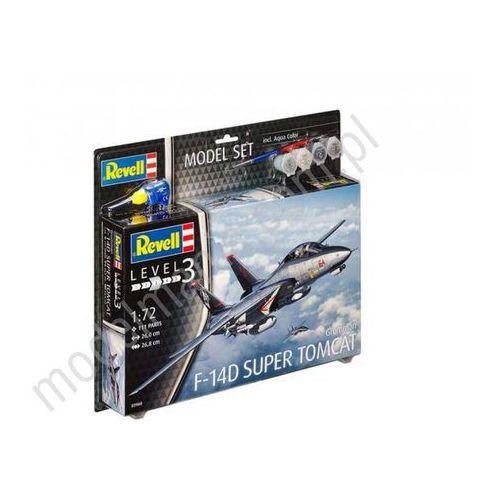 Revell Myśliwiec wielozadaniowy f-14d super tomcat (z farbami) 63960 (4009803639604)