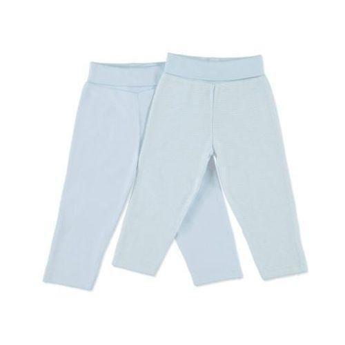 boys newborn zestaw spodni dla noworodków kolor niebieski marki Pink or blue