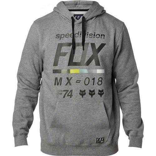 Bluza - district 2 pullover fleece heather graphic (185) rozmiar: l marki Fox