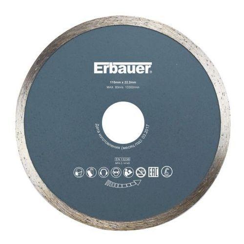 Erbauer Tarcza diamentowa ciągła 115 x 22,2 mm