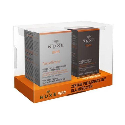 Nuxe  men zestaw nuxellence specjalistyczny preparat przeciwstarzeniowy 50ml+ wielofunkcyjny krem pod oczy 15ml gratis!