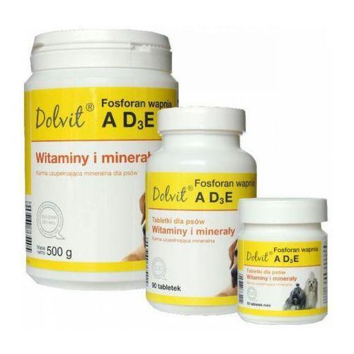 Dolfos  dolvit fosforan wapnia ad3e preparat witaminowo-mineralny dla psów op.90tabl.-1kg