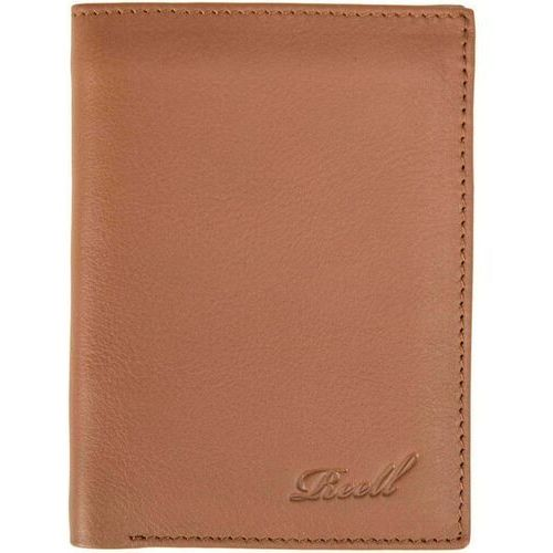 Reell - trifold leather wallet cognac (cognac) rozmiar: one size