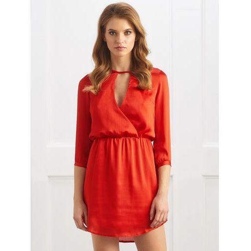 Sukienka lacy w kolorze czerwonym marki Sugarfree.pl