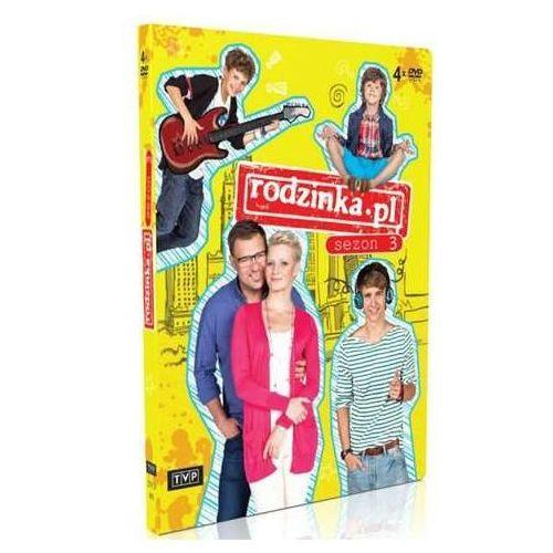 Telewizja polska Rodzinka.pl sezon 3 (4dvd) (5902600067948) - OKAZJE