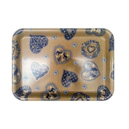 Taca VIVENZI Blue Heart (38 x 27 cm) (8010975001683)