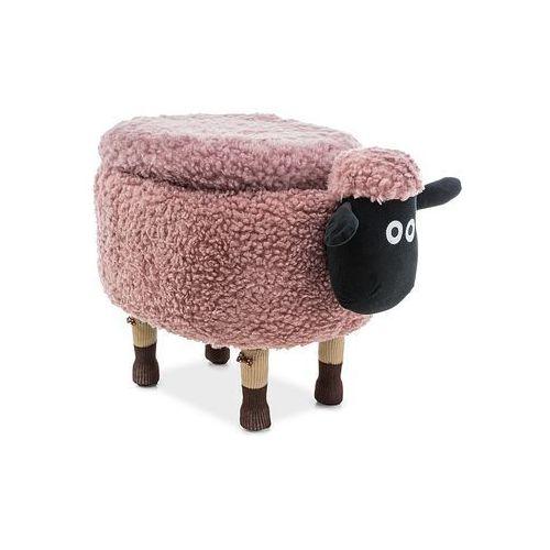 Signal Pufa zwierzak - - owieczka oliwia ii z pojemnikiem - różowy