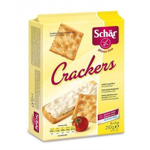 Crackers- krakersy bezglutenowe (6x35g) Schar