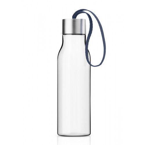 Butelka na wodę z troczkiem Navy Blue, 0,5 l - Eva Solo (5706631167628)