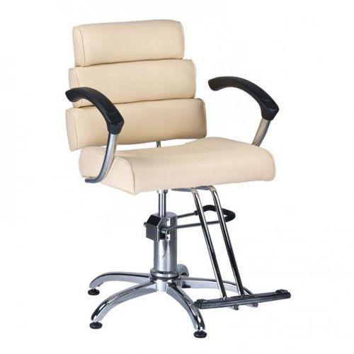 Beauty system Fotel fryzjerski fiore br-3857 kremowy, kategoria: akcesoria fryzjerskie