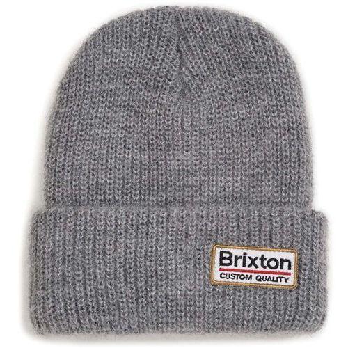 czapka zimowa BRIXTON - Palmer Ii Beanie Light Heather Grey (LHTGY) rozmiar: OS, kolor szary