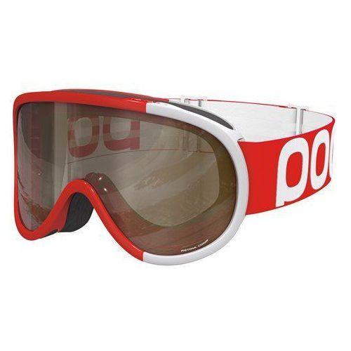 gogle narciarskie dla dorosłych unisex retina comp, czerwony, jeden rozmiar marki Poc
