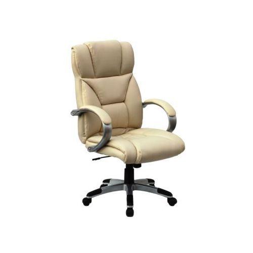 Fotel obrotowy, krzesło biurowe Q-044 beige, Q-044 BE