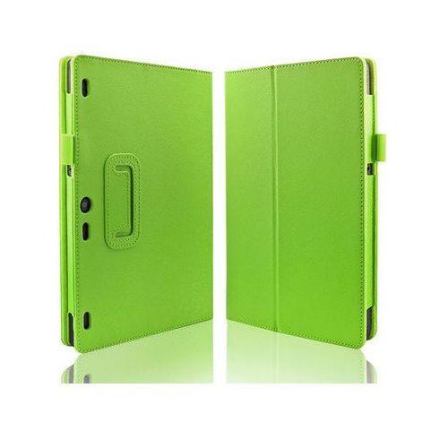 Zielone etui typu Stand Cover Lenovo Tab 2 A10-70 - Zielony, kolor zielony