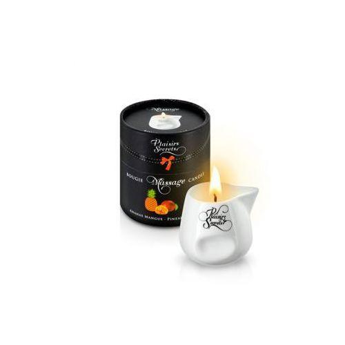 Świeca do masażu - Plaisirs Secrets Massage Candle Pineapple & Mango