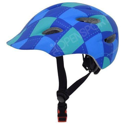 Dziecięcy kask rowerowy infano xs 48-52cm niebieski marki Kross
