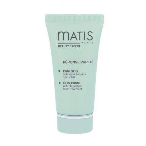 Matis paris réponse pureté maska glinkowa do skóry tłustej (sos paste anti-blemishes local treatment) 30 ml (3579200365402)