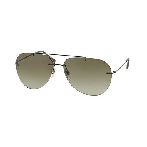 Okulary słoneczne ps50ps red feather rov4m1 marki Prada linea rossa