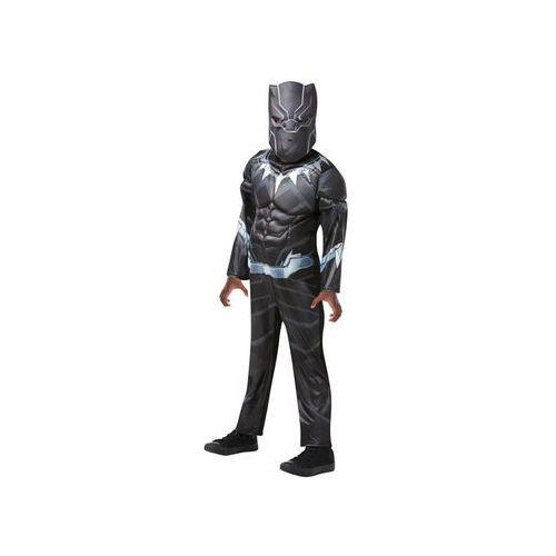 Kostium Czarna Pantera Deluxe dla chłopca - L, kolor czarny