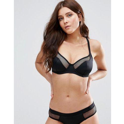 Pour Moi Glamazon Convertible Underwire Bikini Top C-G Cup - Black, w 2 rozmiarach