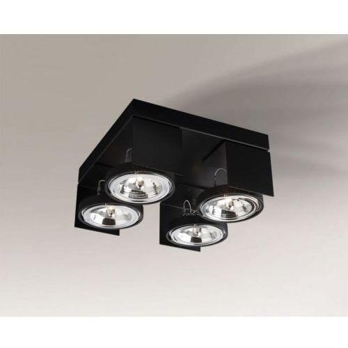 Hamada reflektor 2231/g53/cz 35cm czarny marki Shilo