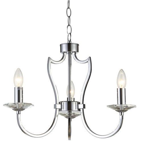 Lampa wisząca RIGA P03755CH – Cosmo Light, kolor Srebrny