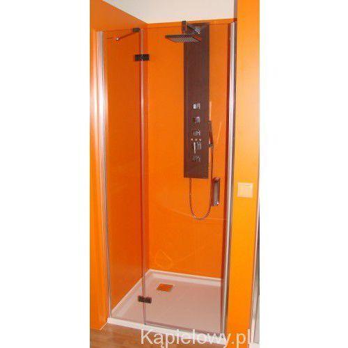 VITRA LINE Drzwi prysznicowe z 1 ścianką 110x200cm lewe BN3915L (8590729040194)